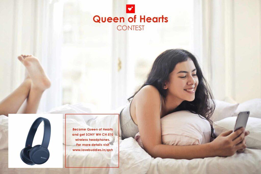 lovebuddies queen of heart contest